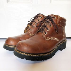 Ariat Men's Lace Up Brown Short Work Boots